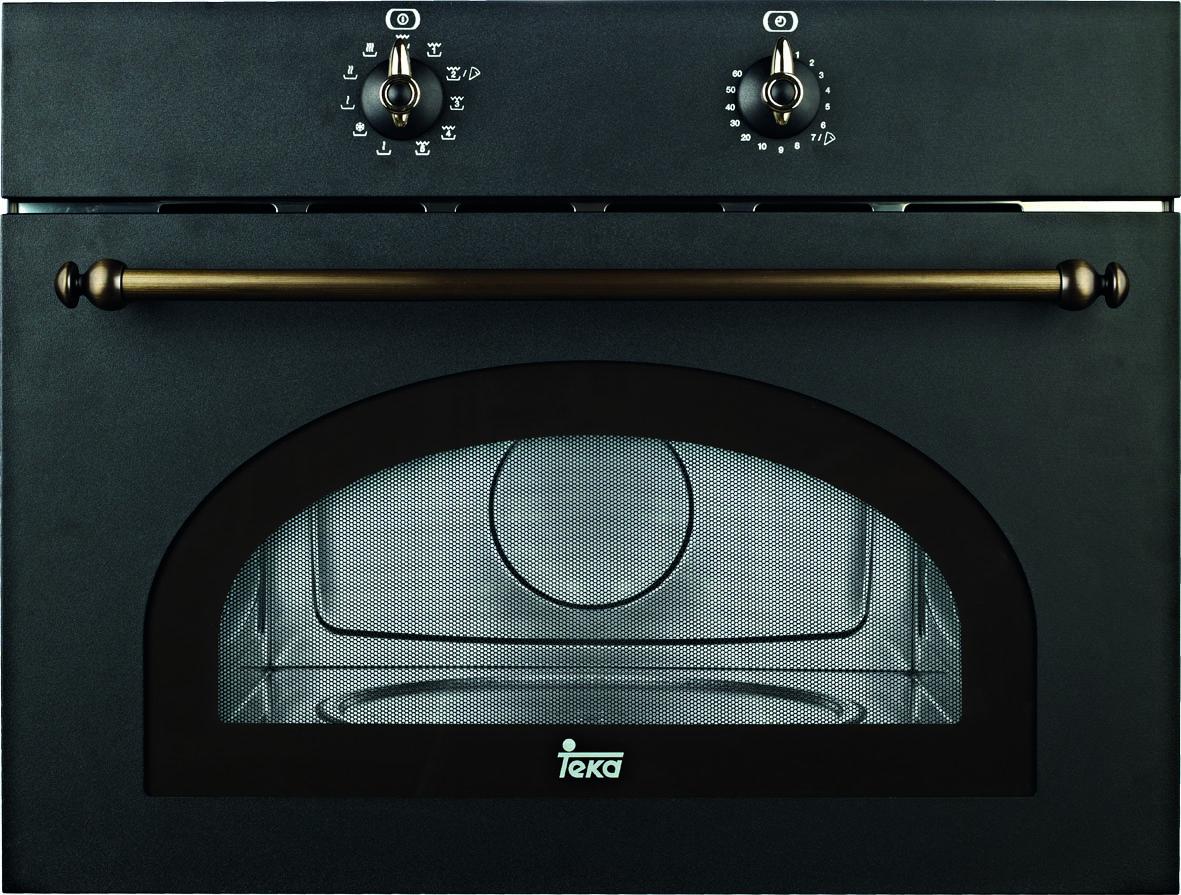 Cuptor cu microunde incorporabil Teka MWR 32 BI Anthracite 1000W 32 litri cavitate interioara inox negru-antracit rustic - rustic