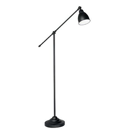 Lampadar Ideal Lux Newton Pt1 1x60w 26x150cm Negru