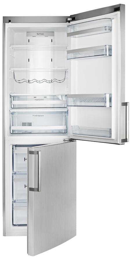 Imagine indisponibila pentru Combina frigorifica Teka NFE 320 Full NoFrost 320L clasa A+ Inox Anti-Pata