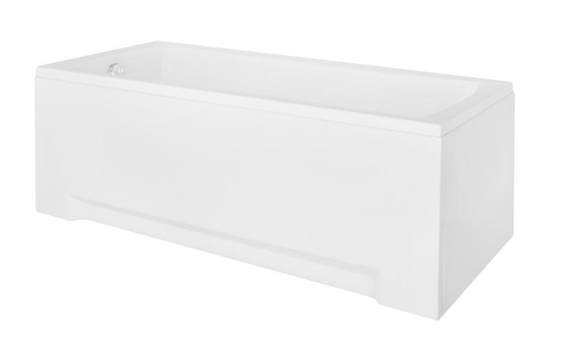 Cada baie rectangulara Besco Optima 170x70cm acril