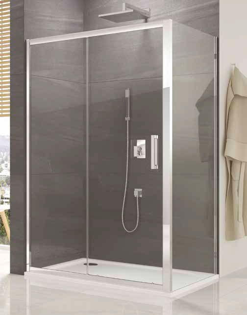 Perete fix SanSwiss Ocelia 90cm imagine sensodays.ro