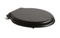 Capac WC Globo Paestum cu inchidere lenta culoare lemn inchis
