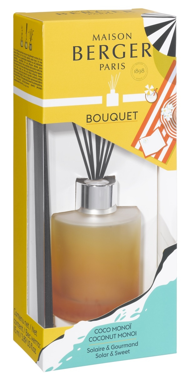 Difuzor parfum camera Berger Bouquet Parfume Blissful Coconut Monoi poza