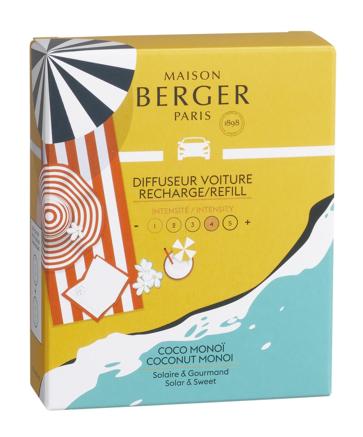 Rezerve ceramice odorizant masina Berger Blissful Coconut Monoi poza