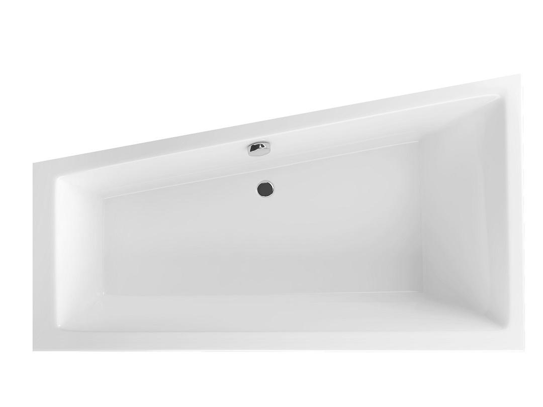 Cada asimetrica Radaway Palea 160x95cm stanga