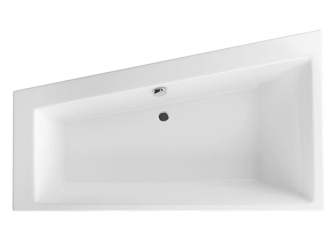 Cada baie asimetrica Radaway Palea 170x100cm acril orientare stanga imagine