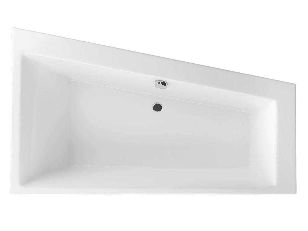 Cada baie asimetrica Radaway Palea 170x100cm acril orientare dreapta