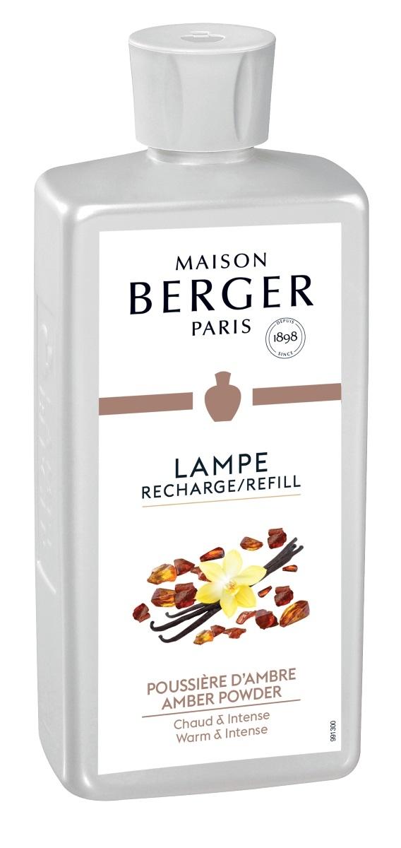 Parfum pentru lampa catalitica Berger Poussiere D'Ambre 500ml imagine