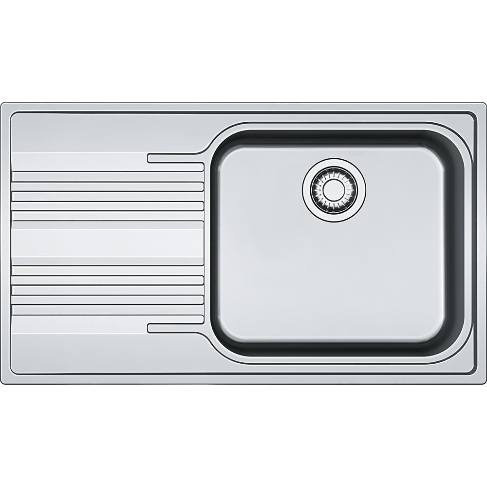 Chiuveta bucatarie Franke Smart SRX 611-86 LB slim picurator stanga 860x500mm inox lucios poza