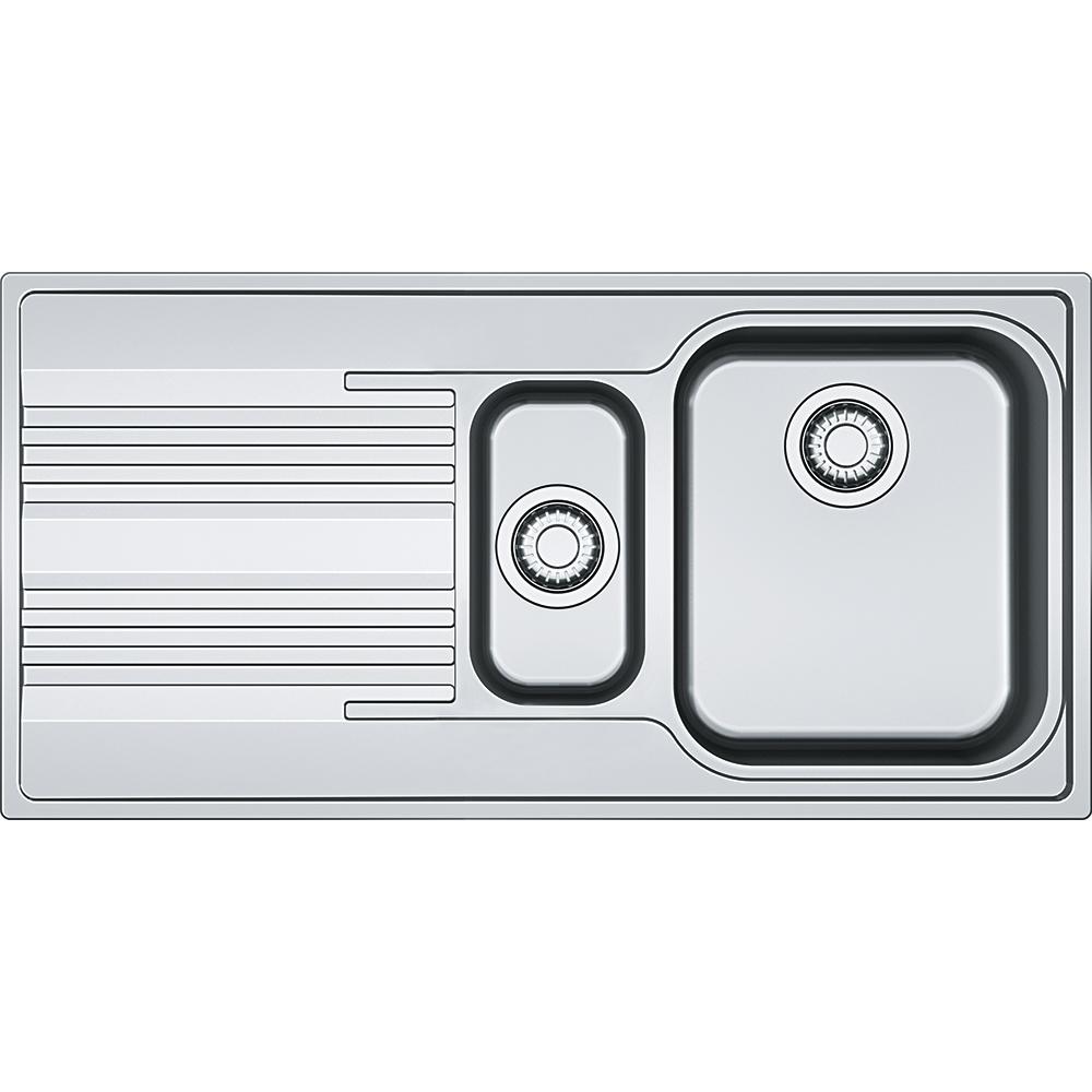 Chiuveta bucatarie Franke Smart SRX 651 slim picurator stanga 1000x500mm inox lucios imagine sensodays.ro