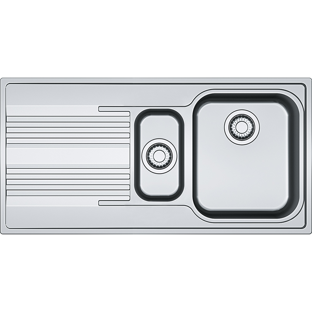 Chiuveta Franke Smart SRL 651 1000 x 500mm slim picurator dreapta inox dekor