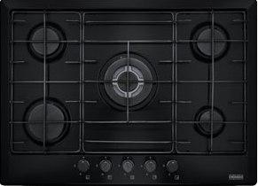Plita gaz incorporabila Franke Multi Cooking 700 FHM 705 4G TC BK E 5 arzatoare 70cm Nero
