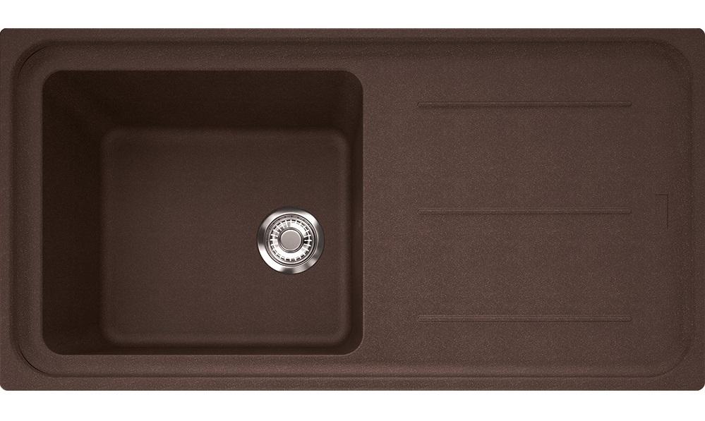Chiuveta Fragranite Franke Impact Img 611-l Reversibila 970x500 Tehnologie Sanitized Dark Brown