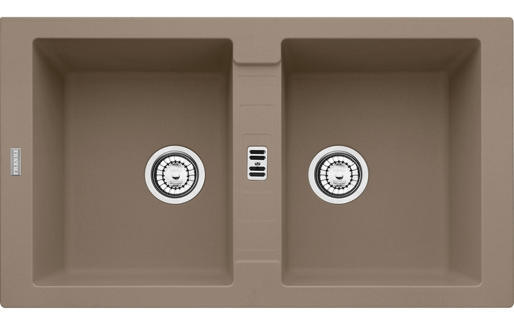 Chiuveta bucatarie fragranite Franke Maris MRG 620 cu 2 cuve 860x500mm tehnologie Sanitized Oyster imagine sensodays.ro