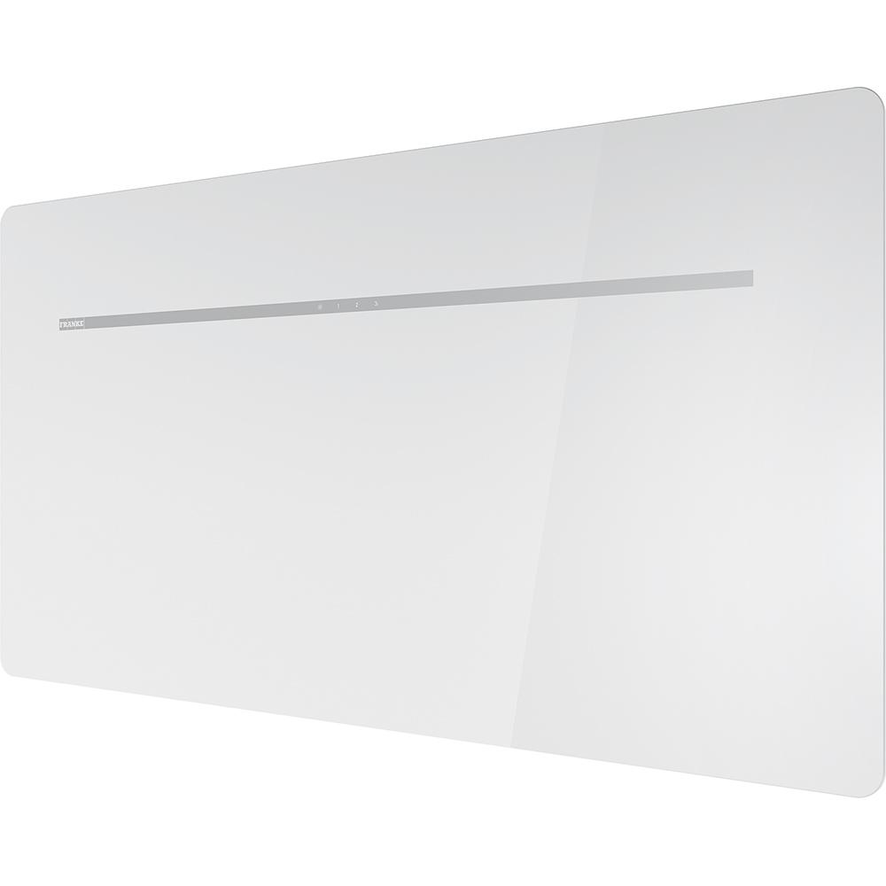 Hota Decorativa Franke Smart Flat Fsfl 905 Wh 90cm 128w 500m3/h Cristallo Bianco
