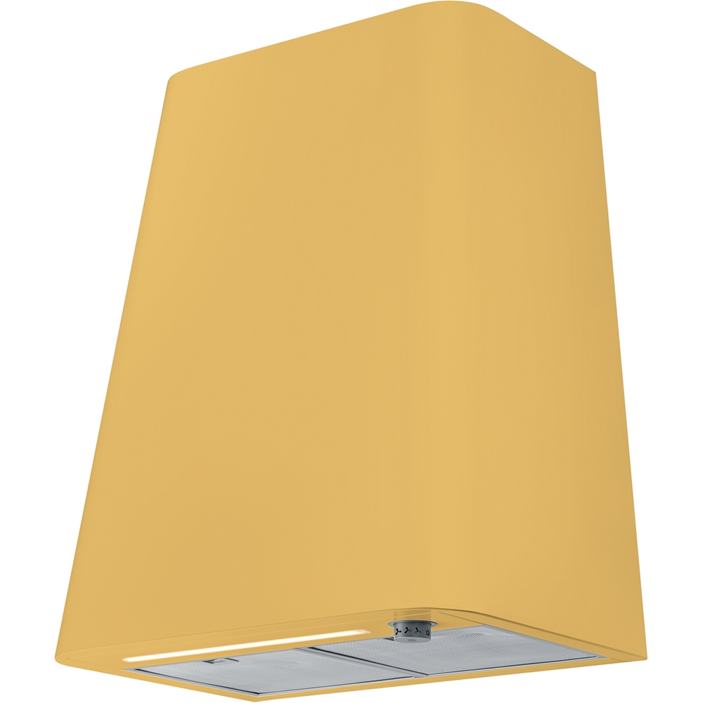 Hota decorativa Franke Smart Deco FSMD 508 WH 50cm 3 viteze + turbo 650m3/h turbo Matt Mustard Yellow