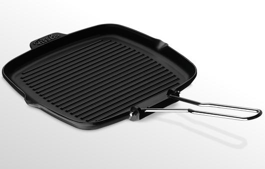 Tigaie grill fonta Fissler Arcana 24x24 cm antiaderenta inductie poza