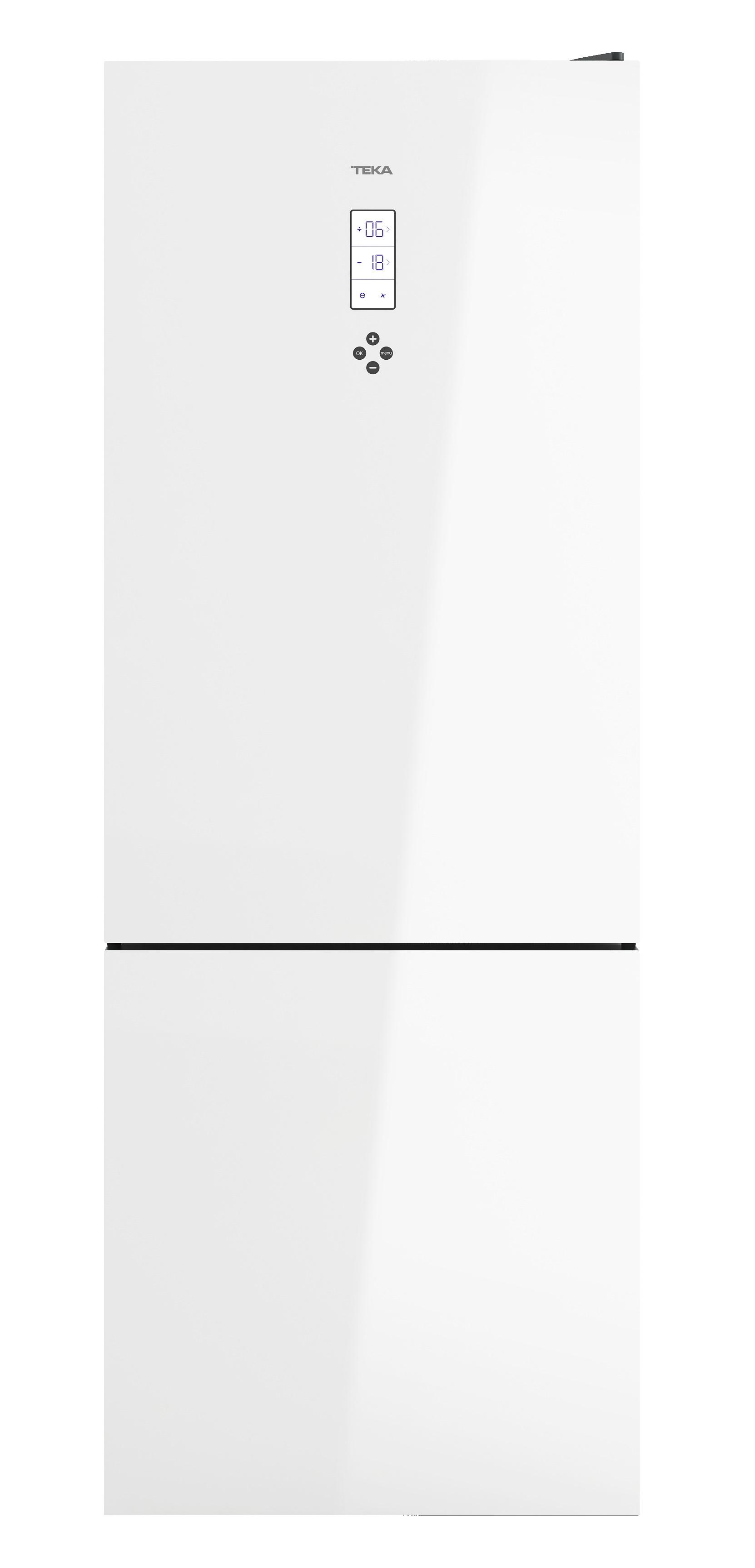 Combina frigorifica Teka Maestro RBF 78720 GWH LongLife No Frost IonClean 461 litri net clasa A++ Cristal White imagine