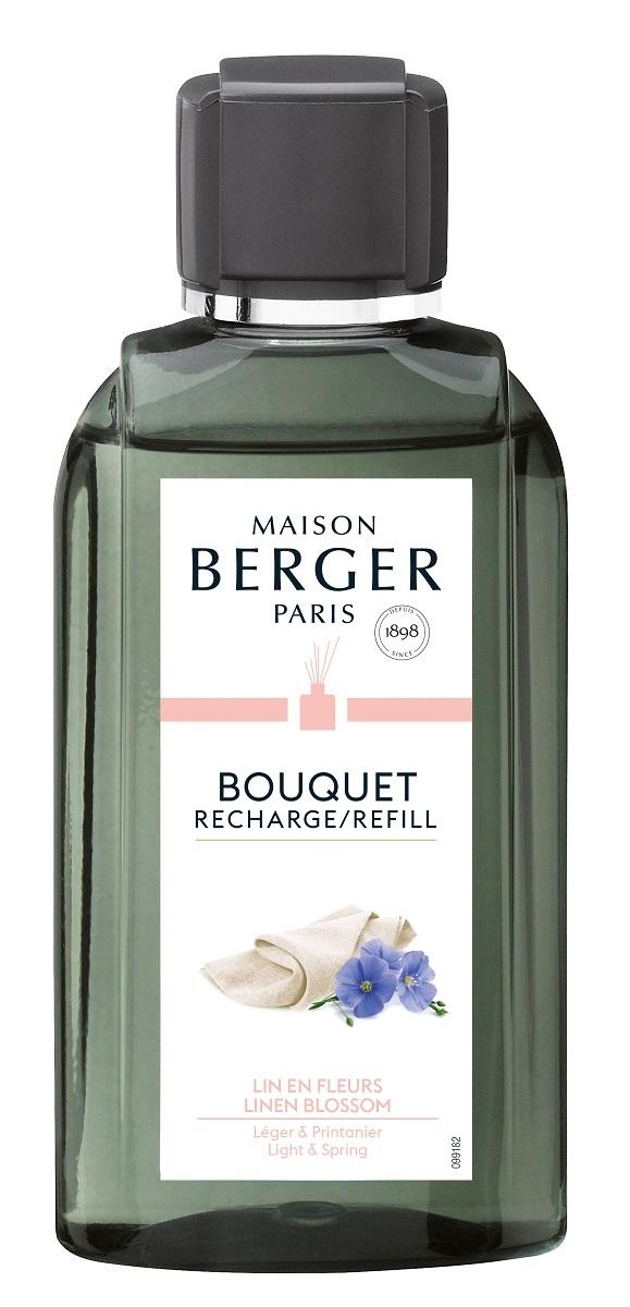 Parfum pentru difuzor Berger Bouquet Parfume Lin en Fleurs 200ml poza