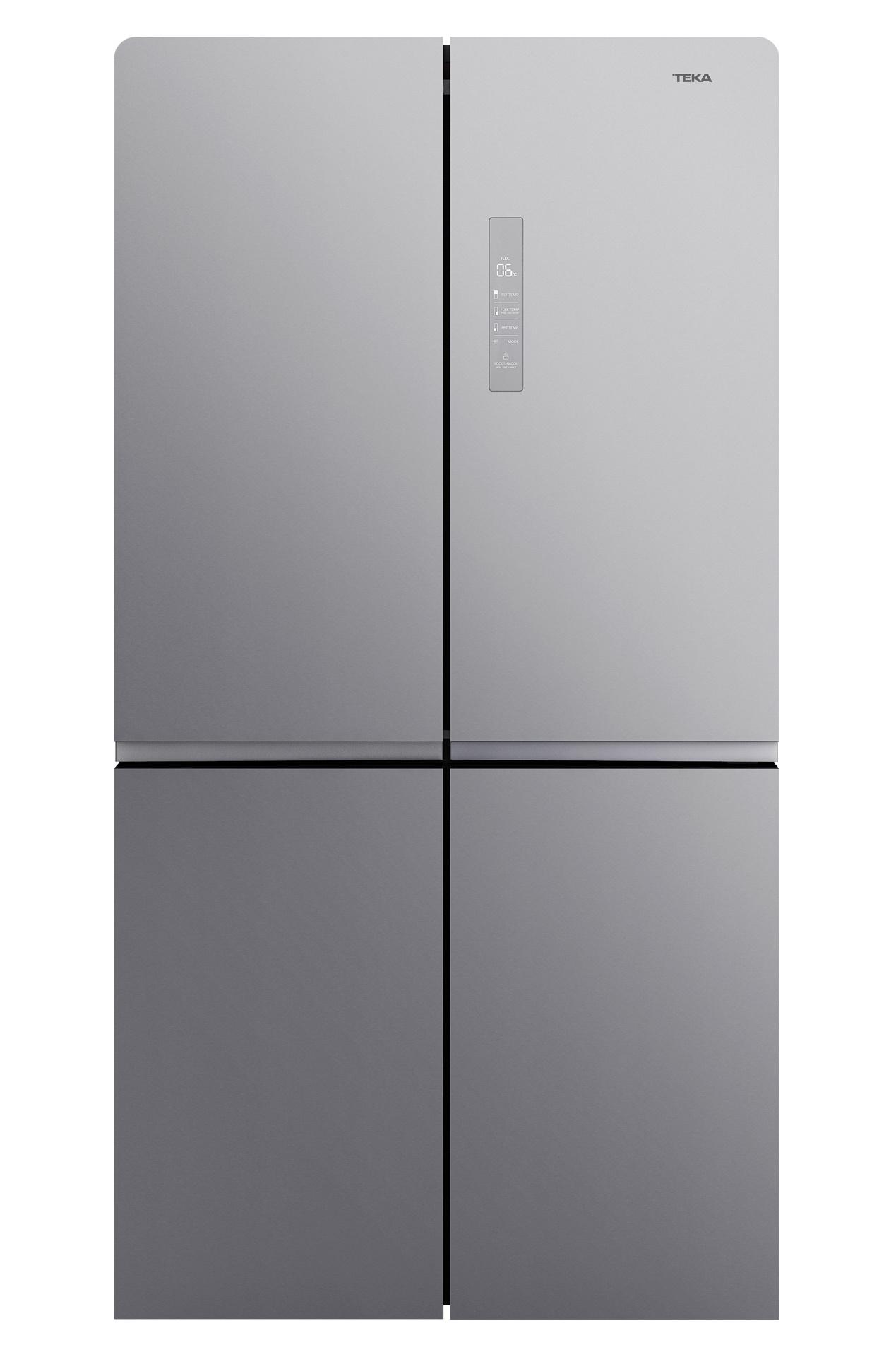 Combina frigorifica cu 4 usi Teka Maestro RMF 77920 SS LongLife No Frost IonClean 637 litri net clasa A++ inox poza