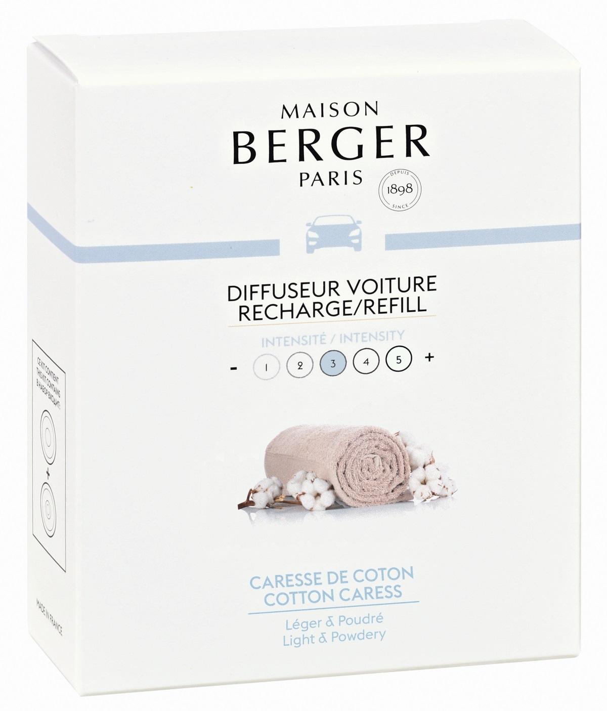 Rezerve ceramice odorizant masina Berger Caresse de coton poza