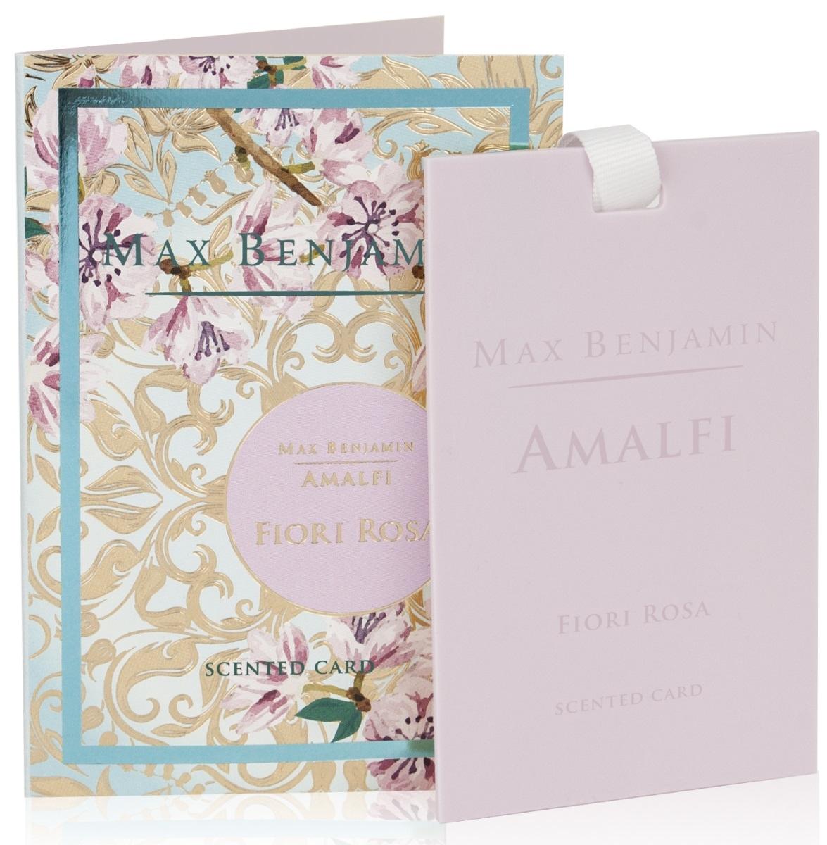 Card parfumat Max Benjamin Amalfi Fiori Rosa poza