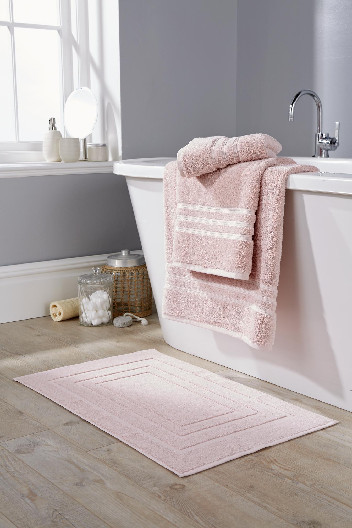 Prosop de baie Behrens Luxury 90x150 cm 100% bbc Soft Pink
