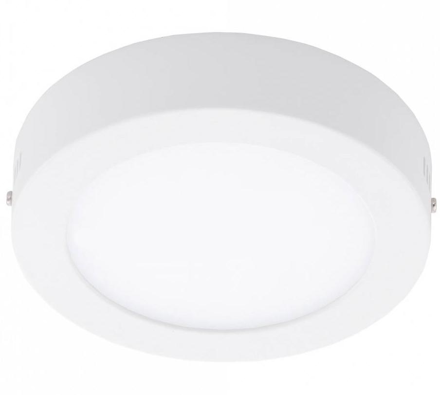 Plafoniera cu LED Eglo Fueva 1 colectia Style 11W 1350 lm 17x3 5cm alb poza