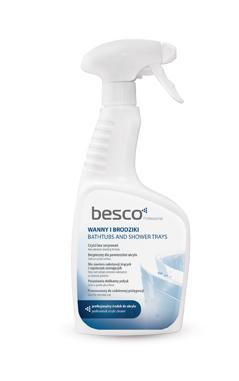 Solutie de curatare Besco pentru cazi si cadite acryl imagine