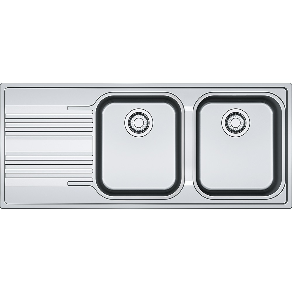 Chiuveta bucatarie Franke Smart SRX 621 slim picurator dreapta 1160x500mm inox lucios poza