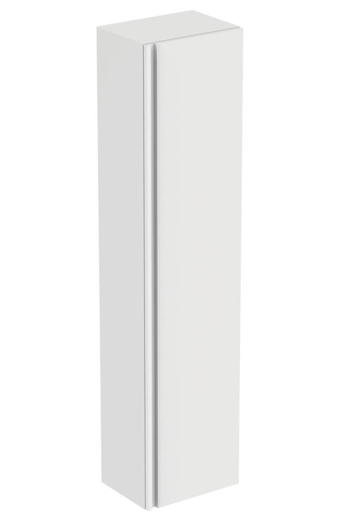 Dulap inalt suspendat Ideal Standard Tesi cu o usa 400x300x1700 mm alb lucios poza