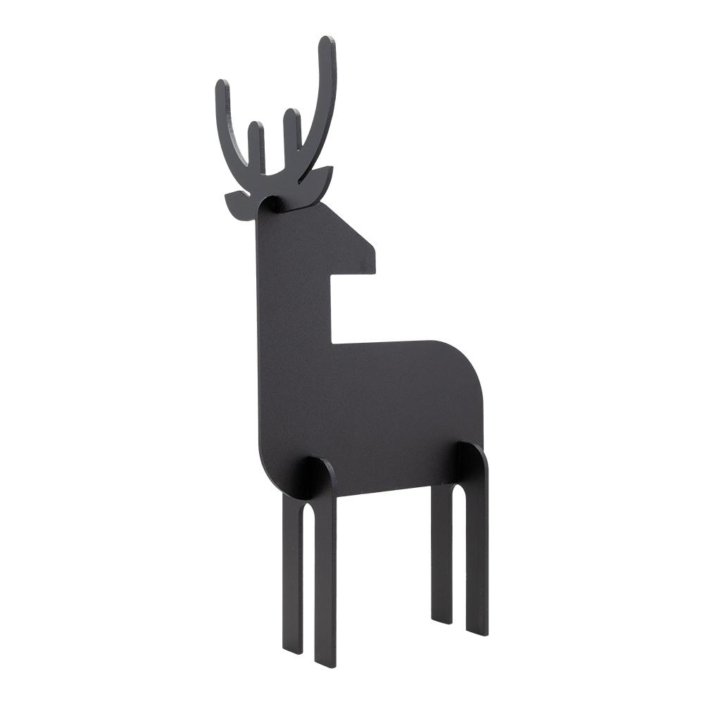 Tabla de scris Securit Silhouette 3D Deer 31x14 7x11 3cm include marker creta negru imagine