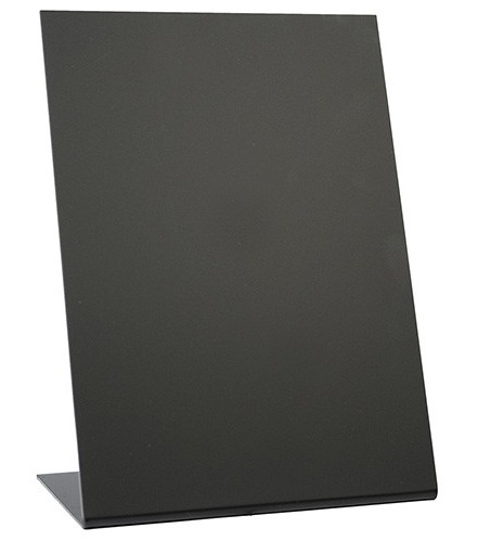 Set 3 table de scris Securit Vertical L A5 21 5x15x8 5cm negru poza