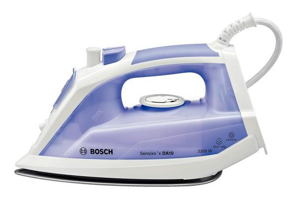 Fier de calcat Bosch TDA1022000 Sensixxx DA10 2AntiCalc 2200W talpa PalladiumGlissee alb / liliachiu