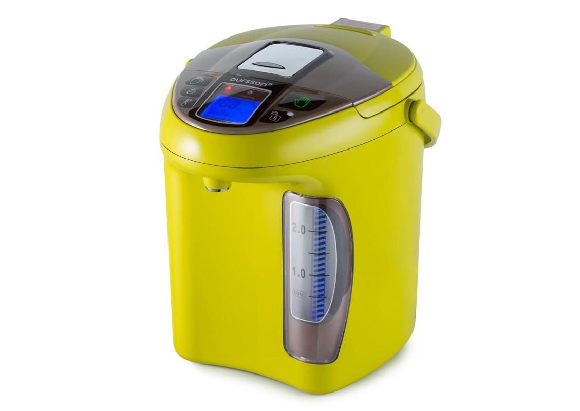 Fierbator electric cu dozator Oursson TP3310PD 3.3 litri verde