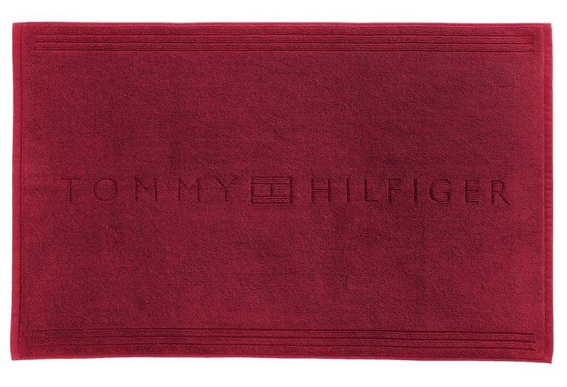 Covor de baie Tommy Hilfiger Plain 2 50x80cm Rosu poza