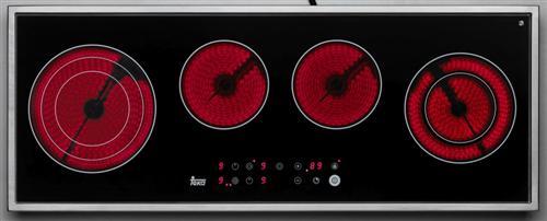 Plita incorporabila vitroceramica Teka TR 90 HZ 4 zone Touch control 90x35cm