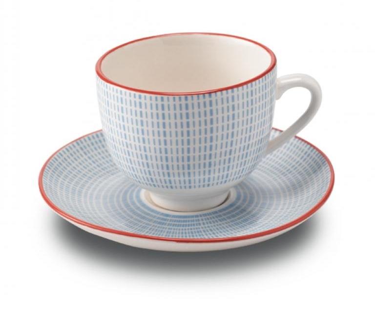 Ceasca si farfuriuta cafea Zafferano Blue imagine