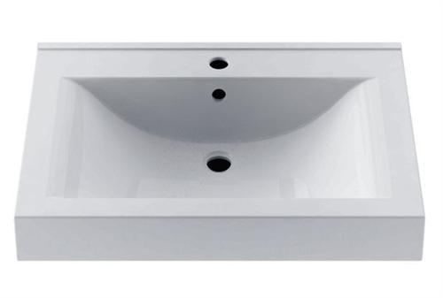 Lavoar Aquaform Nadja 70cm montare pe mobilier