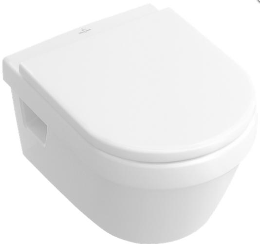 Set vas WC suspendat Villeroy&Boch Omnia Architectura DirectFlush cu capac inchidere lenta
