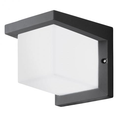 Aplica de exterior cu LED Eglo Desella 10W 16x16cm aluminiu antracit poza
