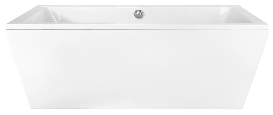 Cada rectangulara free standing Besco Vera 170 x 75 cm