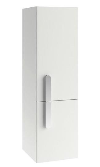 Dulap inalt tip coloana Ravak Concept Chrome SB 350 cu doua usi stanga 35x37x120cm alb