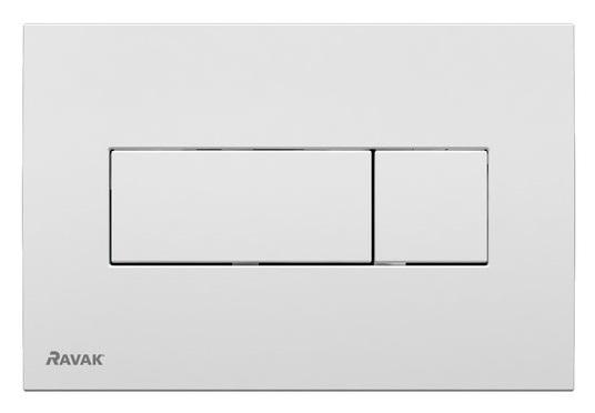 Clapeta rezervor Ravak Concept Chrome Uni alb
