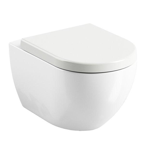 Vas WC suspendat Ravak Concept Chrome Uni 36x51x35cm poza