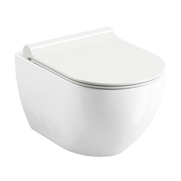 Vas WC suspendat Ravak Concept Chrome Uni RimOff 35.3x51x34.2cm poza