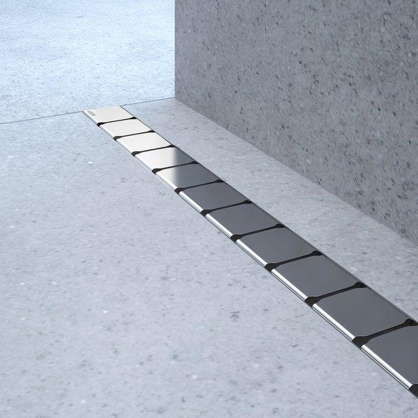 Rigola de dus Ravak Concept 10° OZ 85cm inox