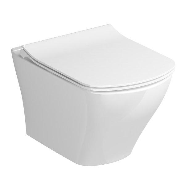 Vas WC suspendat Ravak Concept Classic RimOff 36.5x51x32.5cm poza