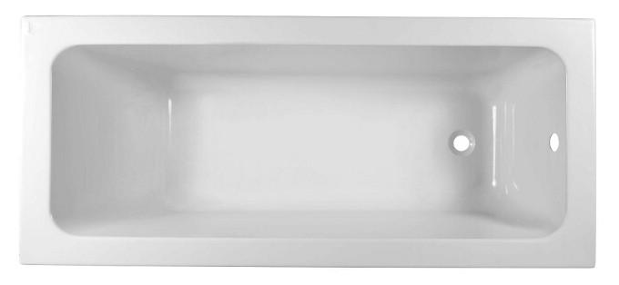 Cada baie rectangulara Kolo Modo 160x70cm acril picioare incluse poza