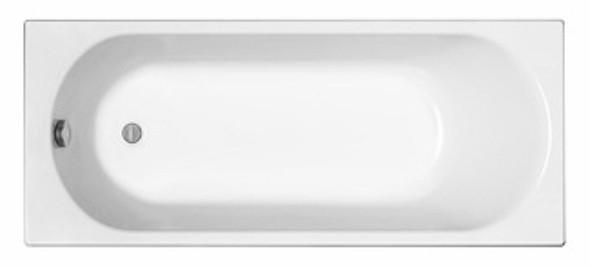 Cada baie rectangulara Kolo Opal Plus 150x70cm acril picioare incluse
